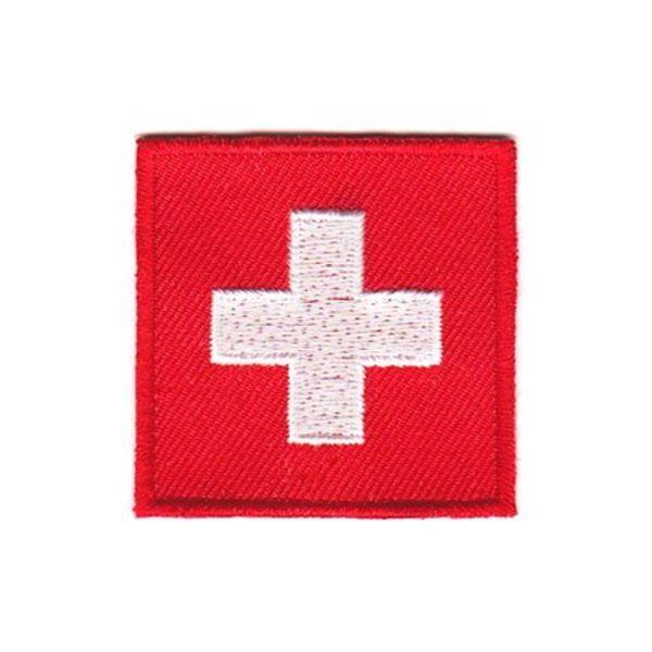 Switzerland flag patch