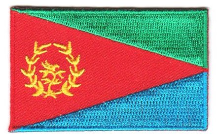 flag patch Eritrea