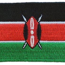 Flaggenpatch Kenia