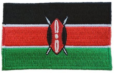 flag patch Kenya