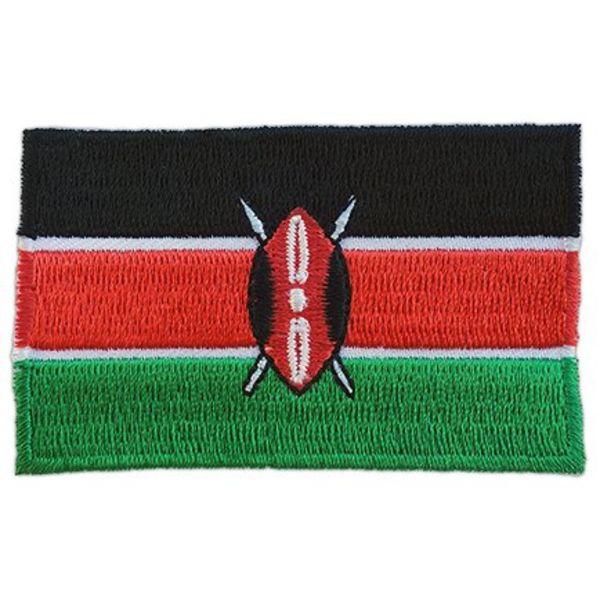 Kenia Flagge Patch