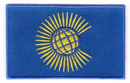 Vlag patch Commonwealth