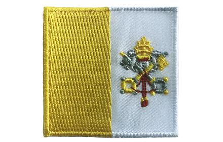 Flaggen-Patch Vatikan