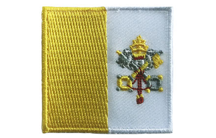 vlag patch Vaticaan