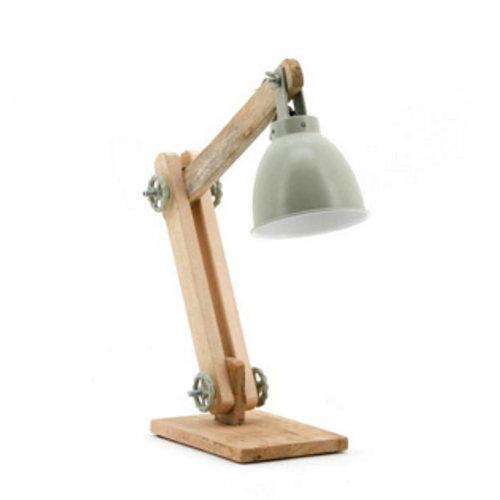 By-Boo Tafellamp Davinci Groen - 50x15xH45 cm