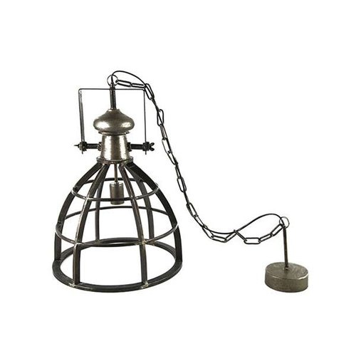 Countryfield Hanglamp Barbera Donkergrijs - Ø40xH159 cm