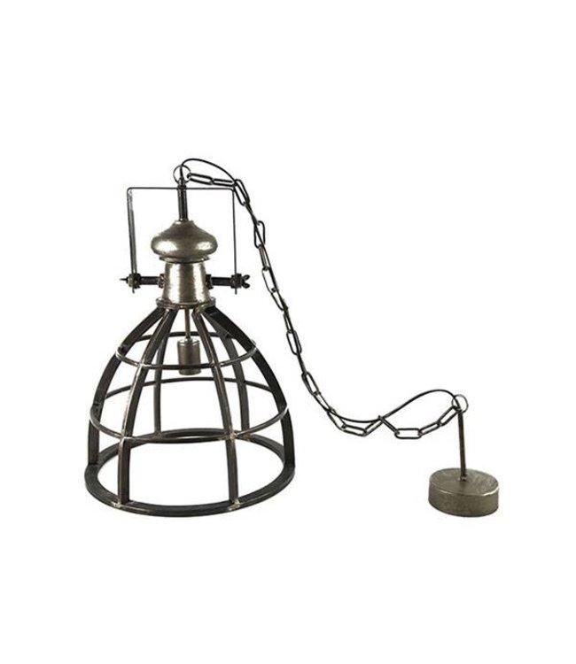 Countryfield Hanglamp Barbera Donkergrijs - Ø40xH159 cm