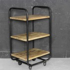 Sweet Living Metalen trolley - 40x34xH76 cm