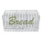 Sweet Living Witte Rieten Broodmand - 38x19xH17 cm