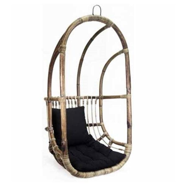 Hangstoel Rotan Buiten.Hangstoel Rotan 67x63xh125 Cm
