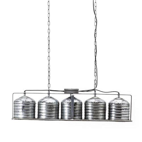 By-Boo Metalen Hanglamp Minack - 85x18xH24 cm
