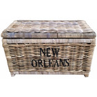Sweet Living Grote Rieten Mand XL - New Orleans