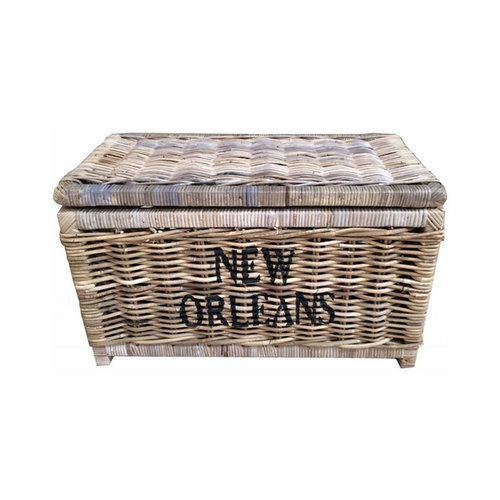 Sweet Living Grote Rieten Mand L - New Orleans