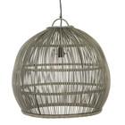 Sweet Living Grijze Ronde Hanglamp - Ø55xH50 cm