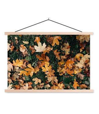 Sweet Living Schoolplaat Autumn Leaves