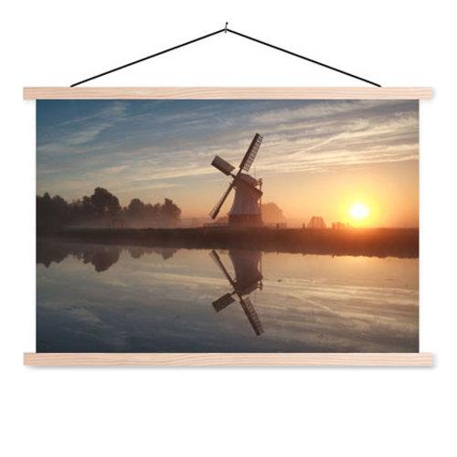 Sweet Living Schoolplaat Hollandse Windmolen