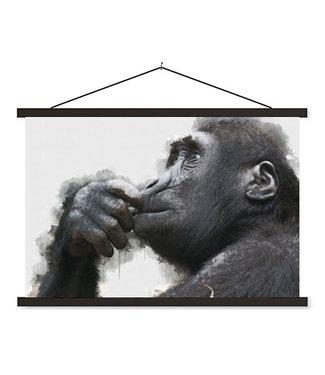 Sweet Living Schoolplaat Chimpansee