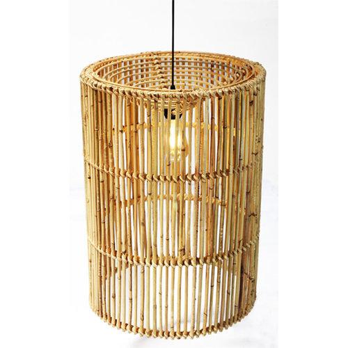 Sweet Living Ronde Rotan Hanglamp Isa - Ø44xH60 cm