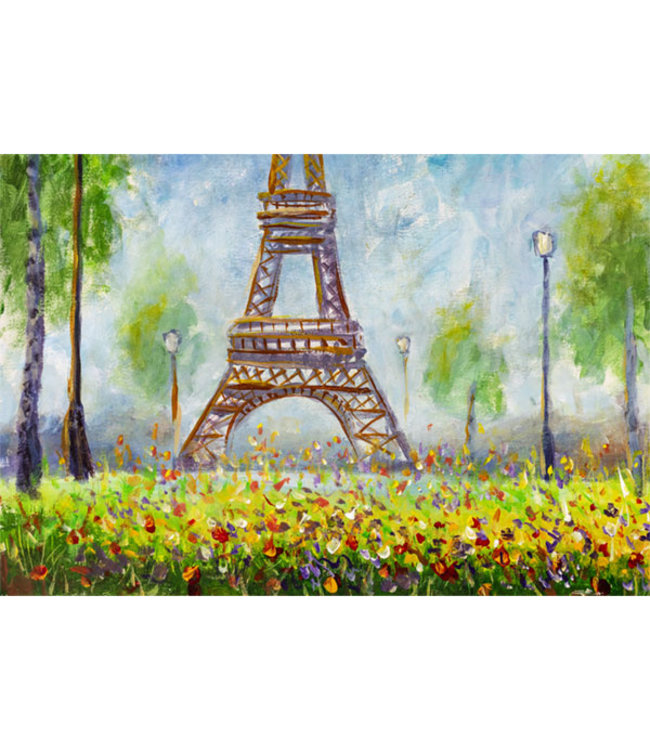Sweet Living Canvas Schilderij Eiffel Tower