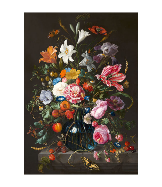 Sweet Living Canvas Schilderij Vase Of Flowers - 60xH90 cm