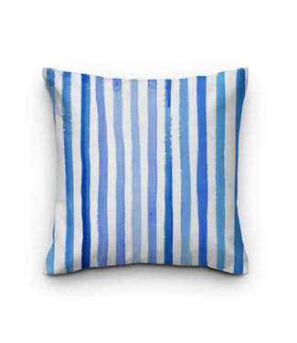 Sweet Living Sierkussen Blue Stripes