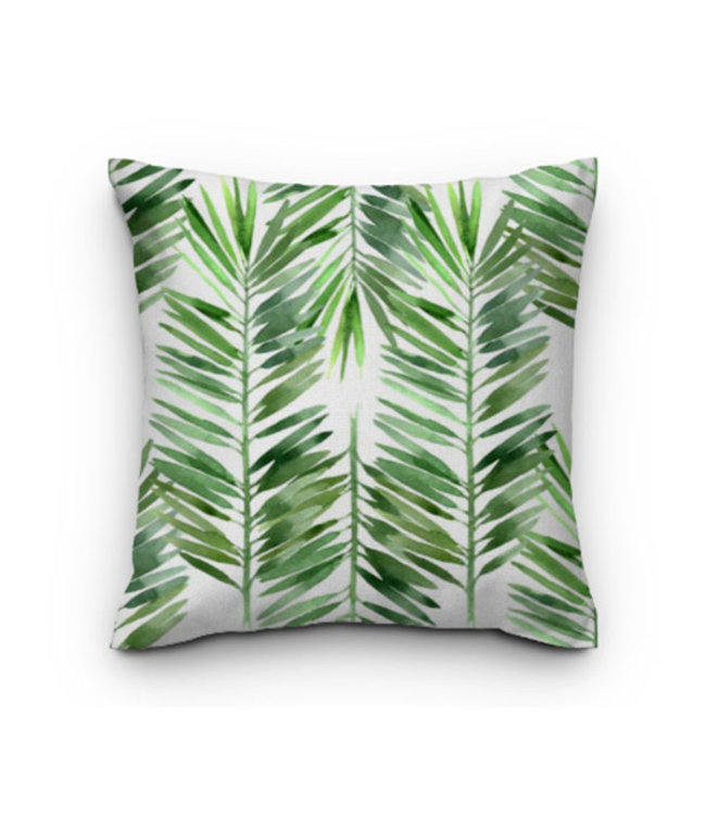 Sweet Living Sierkussen Palm Leaves