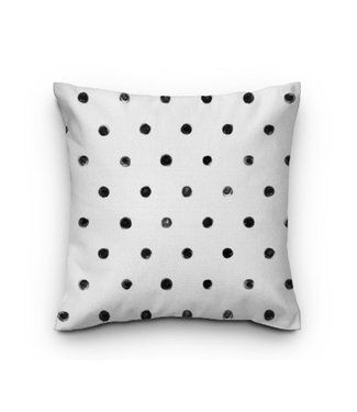 Sweet Living Tuinkussen Black Dots