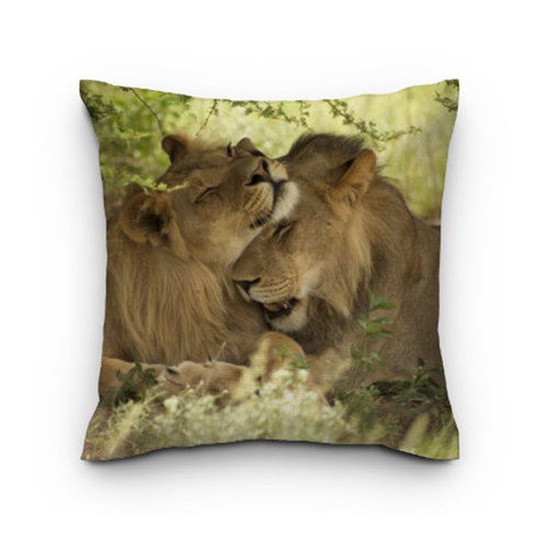 Sweet Living Tuinkussen Lion hugs
