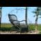 Sweet Living Legergroene Rotan Loungestoel - 67x80xH86 cm