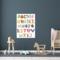 Sweet Living Canvas Schilderij Alfabet - 60xH90 cm