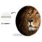 Sweet Living Wandcirkel Lion Close Up