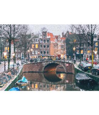 Sweet Living Canvas Schilderij Looiersgracht