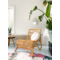 Sweet Living Naturelkleurige Rotan Loungestoel - 59x78xH77 cm