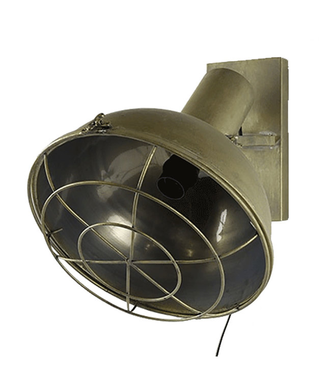 Sweet Living Wandlamp Diego - 34,5x31,5xH36,5 cm