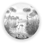 Sweet Living Wandcirkel Retro Natuur