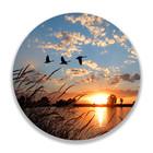 Sweet Living Wandcirkel Vliegende Ganzen