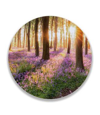 Sweet Living Wandcirkel Bloemen in het Bos