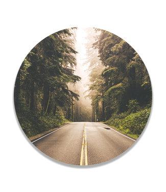 Sweet Living Wandcirkel On the Road