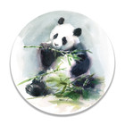 Sweet Living Wandcirkel Eating Panda