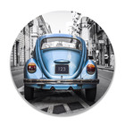 Sweet Living Wandcirkel Blauwe Kever