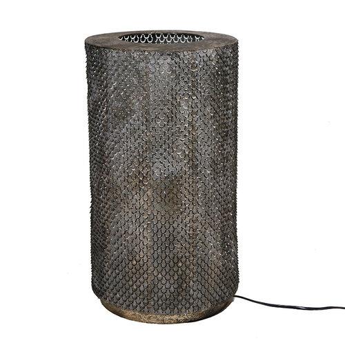 Sweet Living Messing Tafellamp Bella - Ø30,5xH54 cm