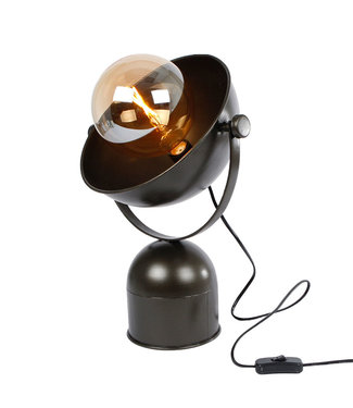 Sweet Living Metalen Tafellamp Ivy - 31x21,5xH44,5 cm