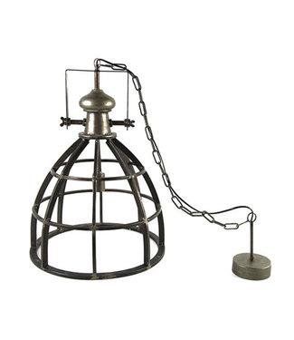 Sweet Living Hanglamp Barbera Donkergrijs - Ø47,5xH166cm
