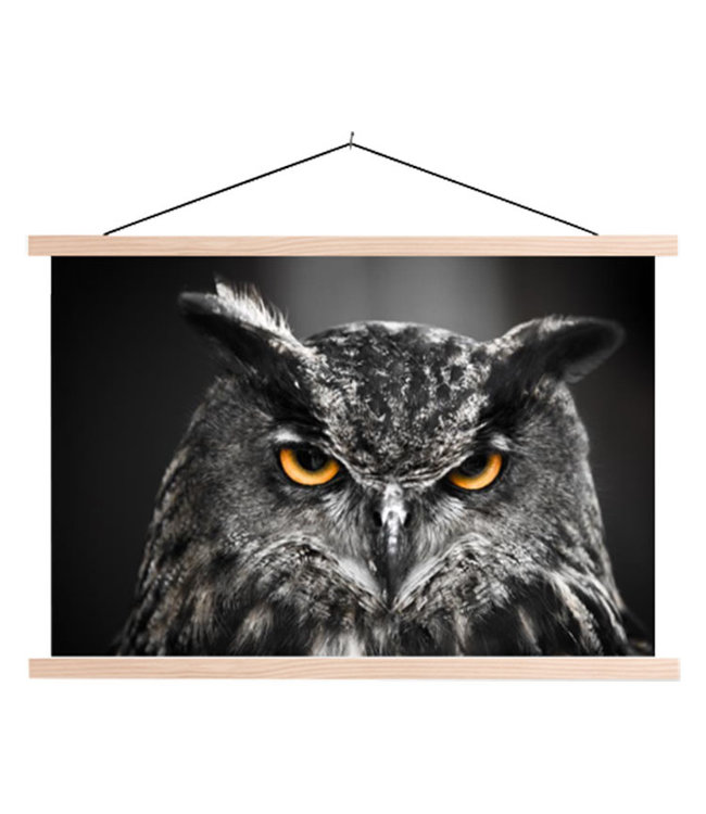 Sweet Living Schoolplaat Eagle Owl