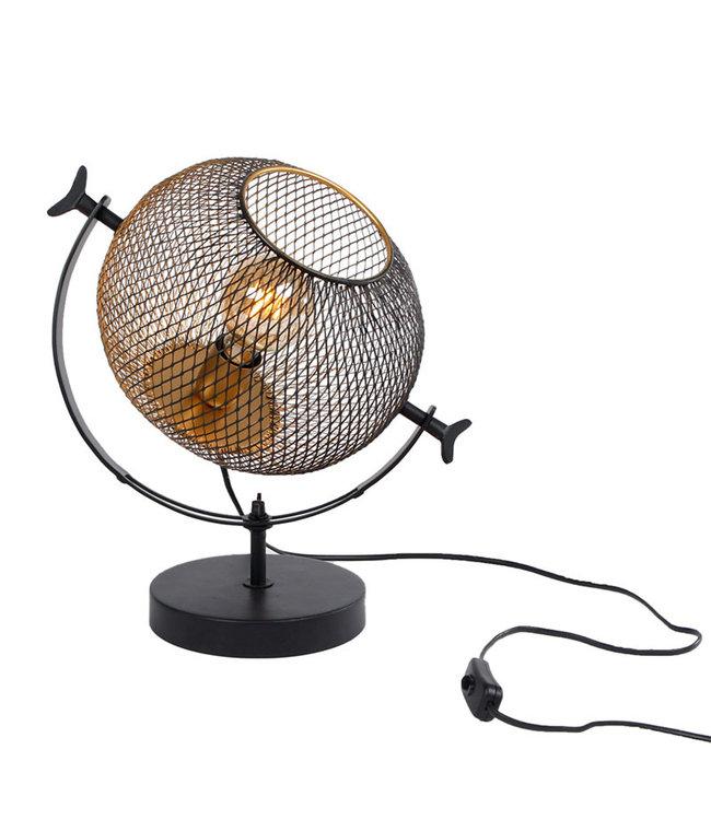 Sweet Living Metalen Tafellamp David - Ø27xH40 cm