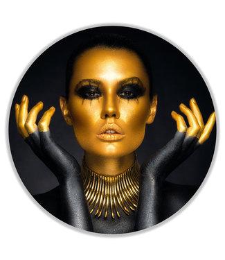Sweet Living Wandcirkel Gold Face