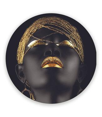 Sweet Living Wandcirkel Golden Beads