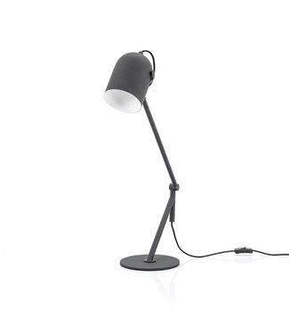 By-Boo Tafellamp Sleek Zwart - 52x20xH65 cm