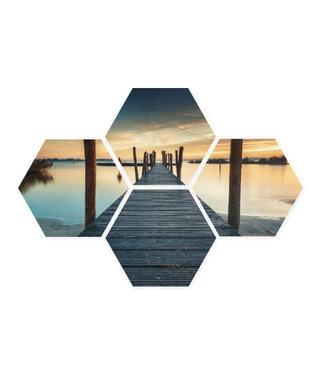 Sweet Living Hexagon Happy Moment - 58xH39 cm