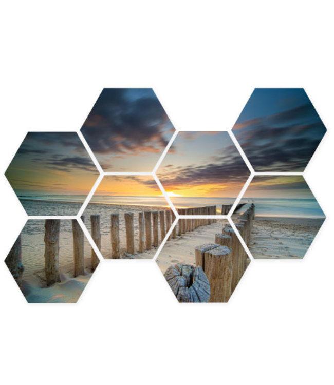 Sweet Living Hexagon Golfbrekers - 76xH50 cm